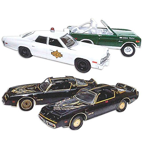 Smokey & The Bandit Movies 1 & 2 Diecast Set w/ Hollywood...