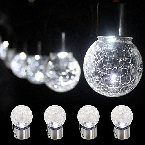Christmas Bulb Path Lights