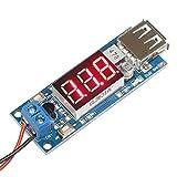DROK DC-DC Buck Voltage Converter 4.5-40V 12V to 5V/2A Step-down Volt Transformer Stabilizer Voltage Regulator Module