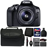 Canon EOS 1300D/T6 18MP Digital SLR camera with 18-55mm Lens and Accessory Bundle
