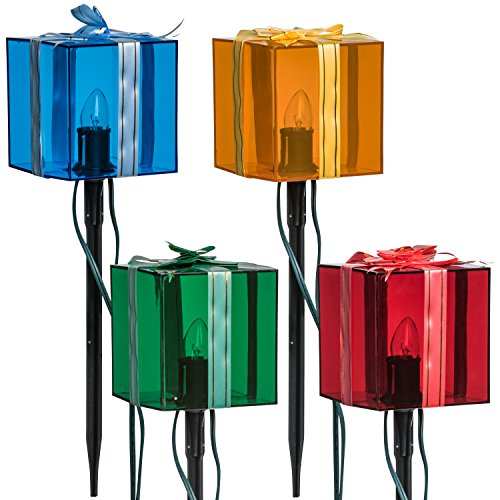 Outdoor Lighted Lawn Decorations - 1