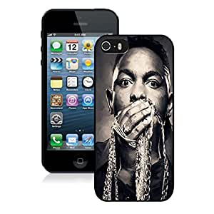 Beautiful Custom Designed Cover Case For iPhone 5S With kendrick lamar iPhone 5s Black Phone Case 226