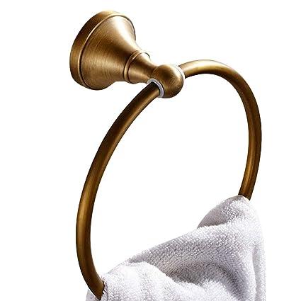 Amazon.com: Leyden Antique Bathroom Accessories Br Towel Ring ... on bathroom enclosures home depot, decorative towel racks, bathroom wall heater, bathroom towels and accessories, bathroom chrome accessories, bathroom toilet accessories, bathroom accessories tile, bathroom accessories sets, bathroom shower accessories, bathroom magazine rack, bathroom faucets, kitchen towel racks, bathroom decor accessories, bathroom partitions and accessories, shower towel racks, best heated towel racks, bathroom rails, bathroom art, towel storage racks, bathroom accessories toothbrush holder,