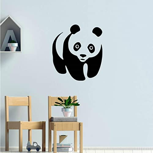 Stickers Mural Gros Panda Decoration Mur Chambre Enfant