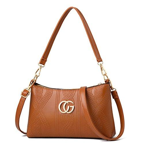 and coréenne Satchel Orange version Polyester main Designer Womens Ladies Oblique Purses Bag Tote Luckywe Handbags Bags Shoulder de T7wqgxEq0