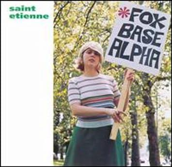 amazon foxbase alpha saint etienne エレクトロニカ 音楽
