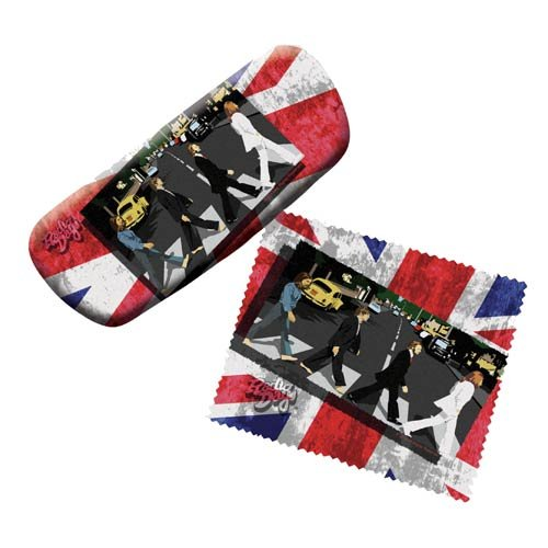 Beatles Eyeglasses Case with Cleaning Cloth