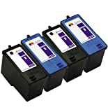 E-Z Ink Remanufactured Ink Cartridge Replacement For Dell Series 9 MK990 MK991 (2 Black, 2 Color), Office Central