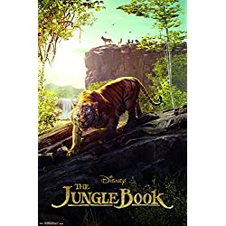 "Trends International The Jungle Book Tiger Wall Poster 22.375"" x 34"""
