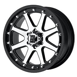 XD-Series Addict XD798 Matte Black Machined Wheel (17x9\