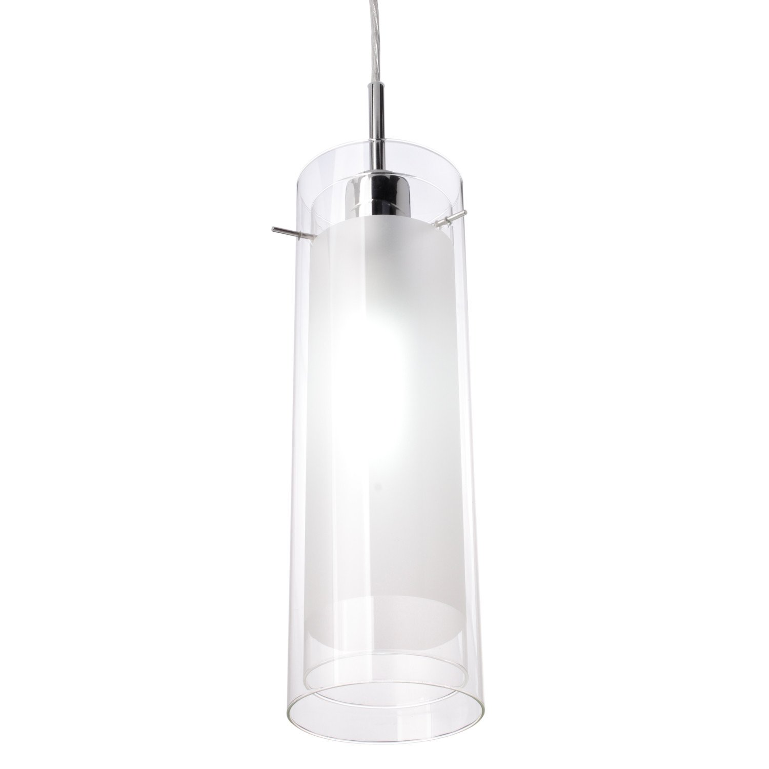 Globe Electric 64023 Pendant Lighting, 1, Polished Chrome