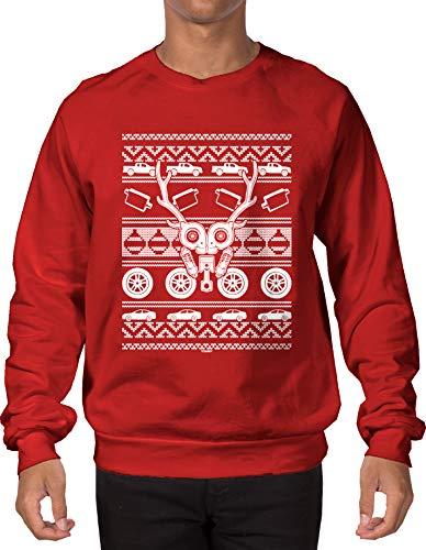 Car Parts Reindeer Ugly Christmas Sweatshirt