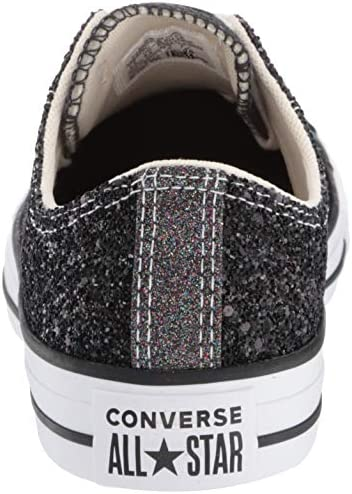 Converse Chuck Taylor All Star Glitter Ox NoirArgentBlanc Synthétique