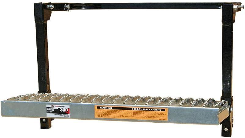 300 lbs Capacity AFF Adjustable Non-Slip Heavy Duty Truck Wheel Step 3912A