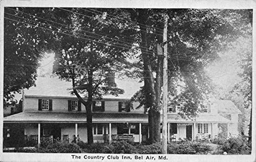Postcard The Country Club Inn in Bel Air, Maryland~122025