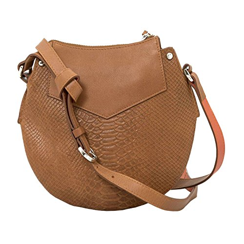 Women Cuero Honey Handbag Crossbody Genuine Leather Carteras 1020026 Velez de Saddlebags TFd8TW