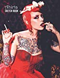 Sketch Book: Megan Massacre Sketchbook 129 pages, Sketching, Drawing and Creative Doodling Notebook to Draw and Journal 8.5 x 11 in large (21.59 x 27.94 cm)