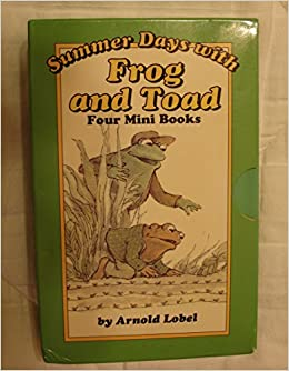 Amazon com: Summer Days With Frog and Toad: Four Mini Books