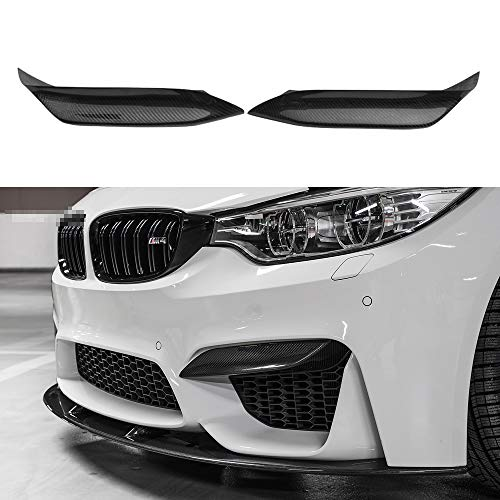 2 pcs/pair air canards canard splitter for BMW M3 M4 for sale  Delivered anywhere in USA