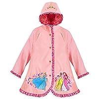 Disney Store Princess Cinderella/Ariel/Tiana Rain Jacket/Raincoat Size M 7/8
