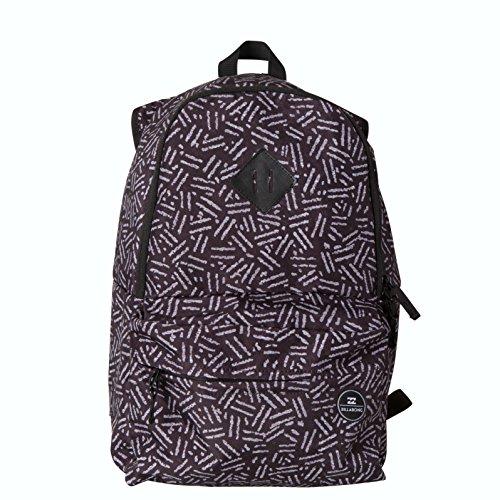 Billabong Atom Backpack - 1220cu in Black/White, One (Atom Backpack Billabong)