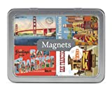 Cavallini San Francisco 24 Assorted Magnets