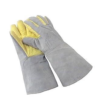 tan baratas clásico Venta caliente 2019 YANZHEN 500 grados de alta temperatura guantes resistentes ...