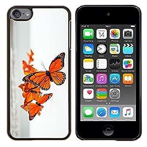 Caucho caso de Shell duro de la cubierta de accesorios de protección BY RAYDREAMMM - Apple iPod Touch 6 6th Touch6 - Primavera Naturaleza Océano Mar Cielo