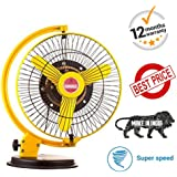 BuyFeb Seema Multiple Uses or Wall Cum Stormy Table Fan 230mm (9 Inch)