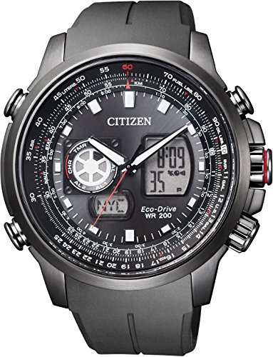 Citizen Promaster SKY Eco-Drive Eco-Drive World Time Analog and Digital Multi-Function Model Men Watch JZ1066-02E