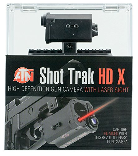 ATN Shot Trak-X HD Video Camera Red Laser Black - New Item