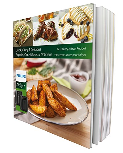 Philips Airfryer Cookbook with 150 Healthy Simple and Delicious Recipes- For TurboStar Models- HD9935/01 ()