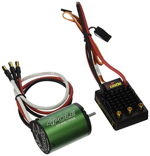 Castle Creations Sidewinder 3 Waterproof ESC with Motor (NC1406-6900KV), Scale 1:10 (1 10 Brushless Combo)