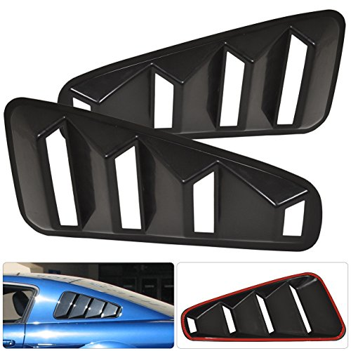 ford mustang rear window louver - 5