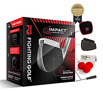 Impact Improver Indoor Training Aid, Great Gift for Your Golf Swing