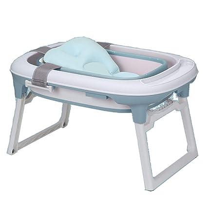 JINRONG_xzp Bañera para bebé Plegable, bañera, portátil, para bebés ...