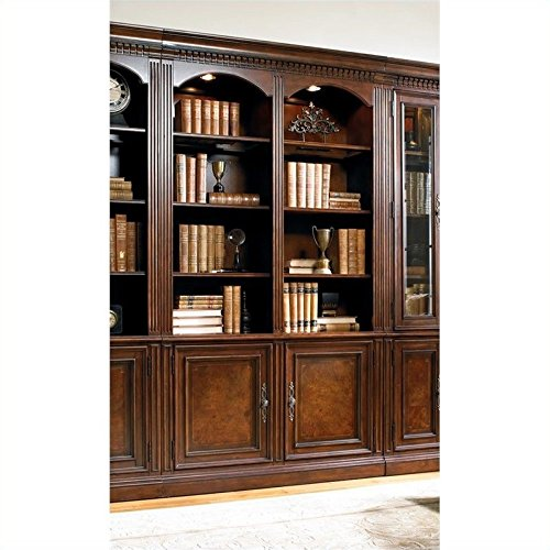 Hooker Furniture European Renaissance II Wall Bookcase - Renaissance Corner Table