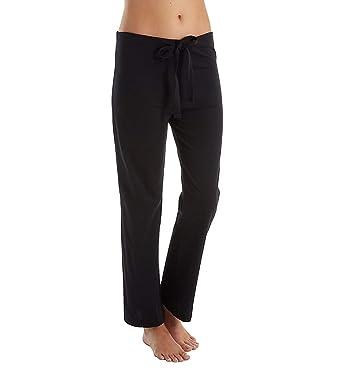 529999f70f37 Women's Latex-Free Drawstring Lounge Pants Made from 100% Organic Cotton  (Black)