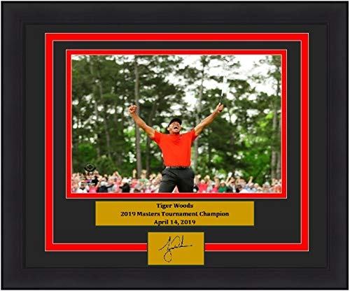 Tiger Woods 2019 Masters Tournament Champion Celebration 8