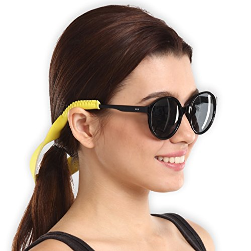 Premium Sunglass Strap - Floating Neoprene Eyewear Retainer for All Water Sports & Outdoor Adventures - Keeps Your Glasses Secure - Durable & Comfortable. Fits most frames. (Sport Women Eyewear)