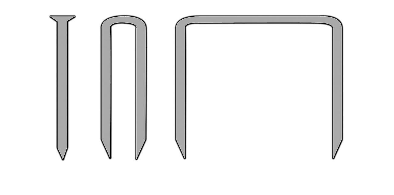 AGT NC-5322 3/en 1/pour agrafeuse cloueuse avec 600/Assortiment de 8/mm Pince de pr/écision 944/Agrafeuse