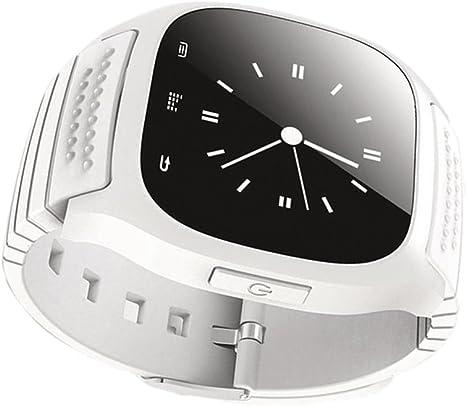 Baoblaze 1 pc Smartwatch Reloj Digital Mano Unisex Muñequera Actividad Física Ritmo Cardiaco Podómetro Impermeable para Android Dispositivos iOS