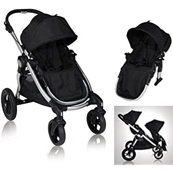 Baby Jogger City Select Stroller with 2nd Seat Onyx