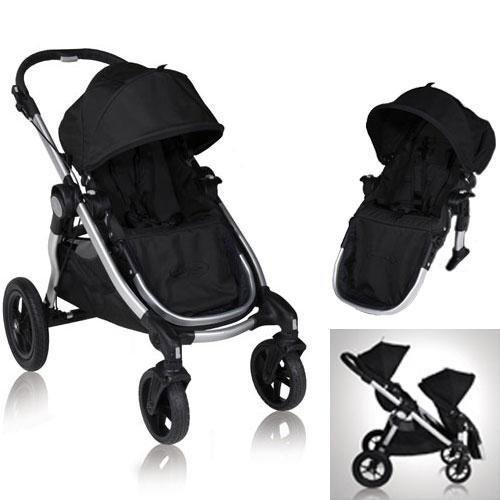 UPC 639302306970, Baby Jogger City Select 2013 with FREE Second Seat Kit, Onyx