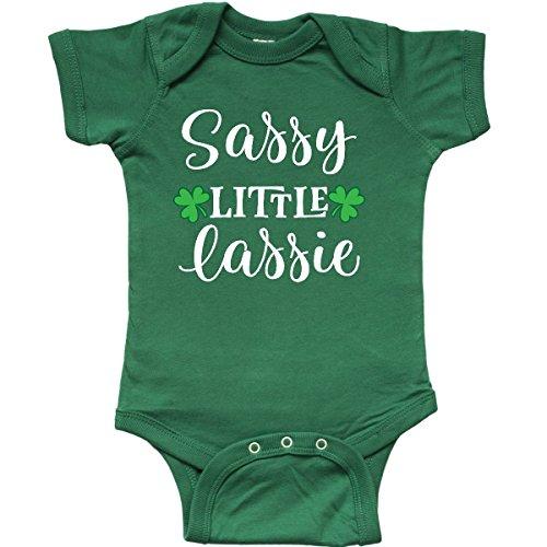 inktastic - St Patricks Irish Lassie Infant Creeper Newborn Kelly Green 2ed94