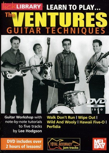 DVD : Learn To Play The Ventures (DVD)