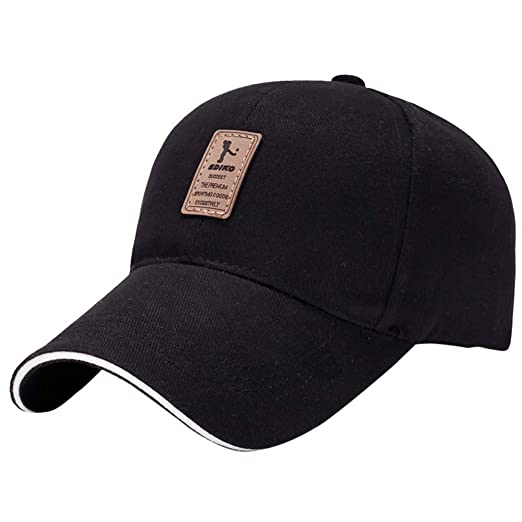e975e55cd0f Image Unavailable. Image not available for. Color  New 2019 Baseball Cap  Men Women Dad Hat Adjustable Buckle Golf Hip-Hop ...