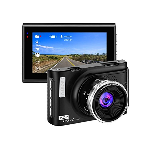 Dash Cam, CHORTAU 1080P Full HD Dashboard Camera 3.0
