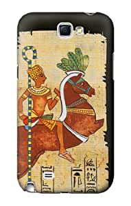 S0392 Egyptian Art Case Cover for Samsung Galaxy Note 2