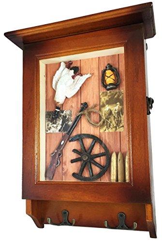 Heartful Home Wood Key Cabinet